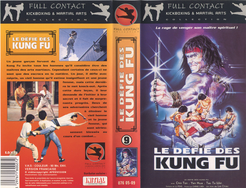 Vhs Full Contact Defie_kungfu
